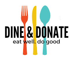 Dine & Donate logo