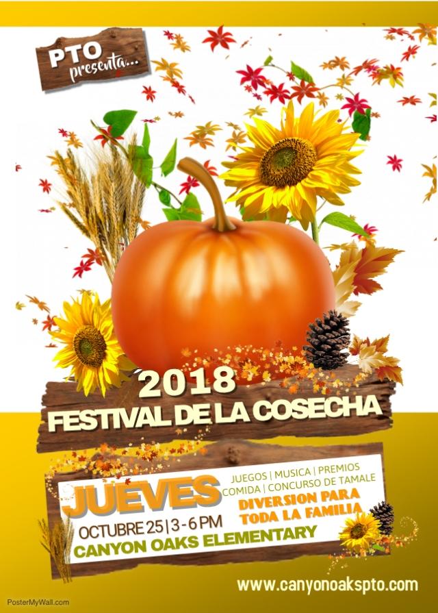 Harvest Fest Flyer 2018 - Span