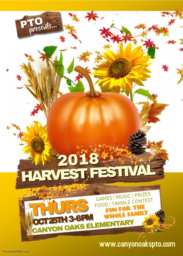 Harvest Fest Flyer 2018